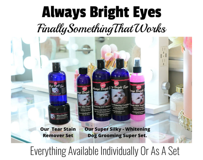 Our Complete Super Whitening/Conditioning Grooming Line