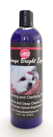 Always Bright Eyes - Super Whitening and Clarifying Shampoo with Optical Brighteners.