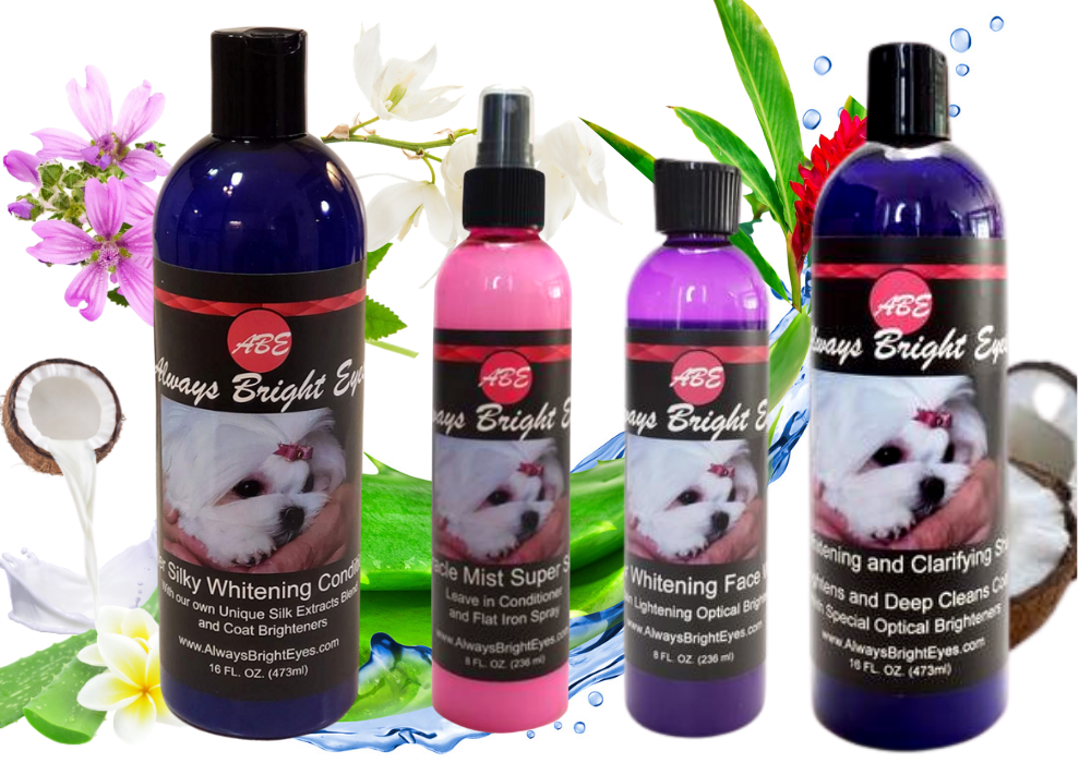 Always Bright Eyes - Super Whitening/Conditioning Dog Grooming Super Set.