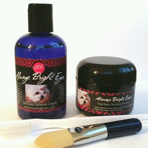 Always Bright Eyes - Tear Stain Remover - Complete Set.