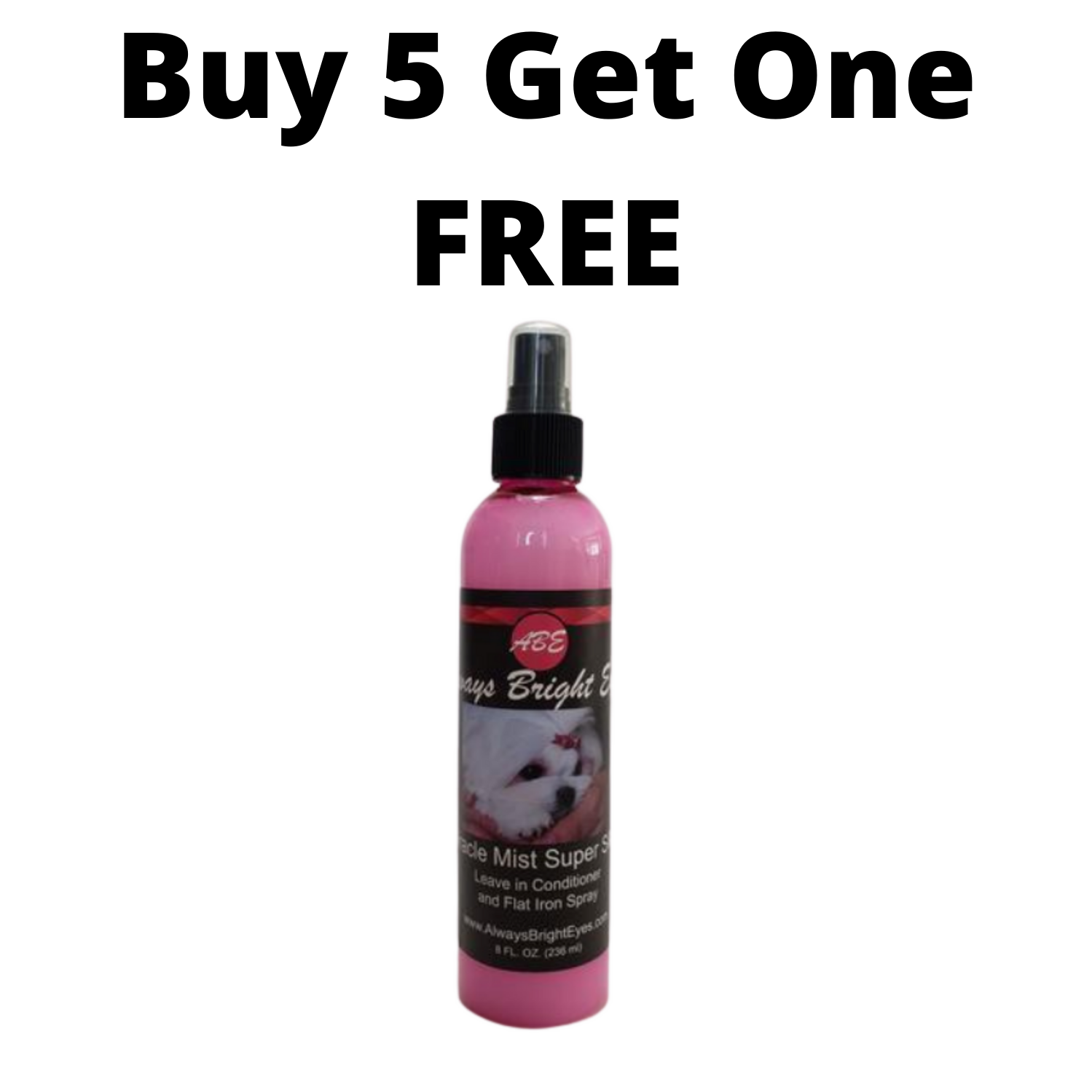 ABE - Miracle Mist Super Silk Shine Spray - Buy 5 Get One FREE - Distributors price