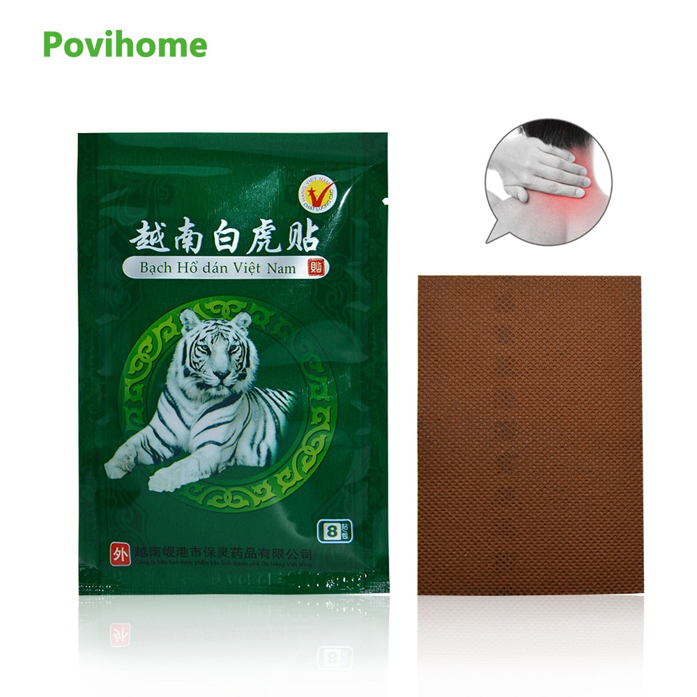 White Tiger Balm Patches