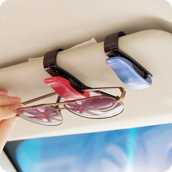 Storage clip for glasses