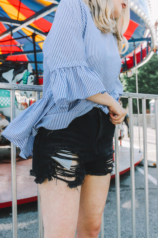 City Walk Denim Shorts