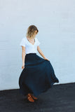 Midnight Maxi Skirt