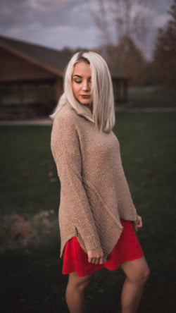 Salted-Carmel Sweater