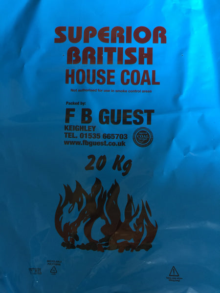 20KG House Coal (Small double)