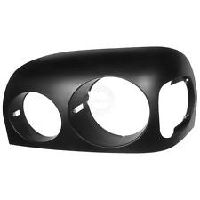 Black  Freightliner Century Headlight Bezel 05 & Up Driver