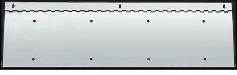 Under Bumper Mount License Two Plate Holder 28""