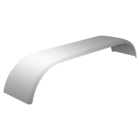 "132"" Stainless Steel ""Canadian Spread"" Standard Full Fender with Rolled Edge"