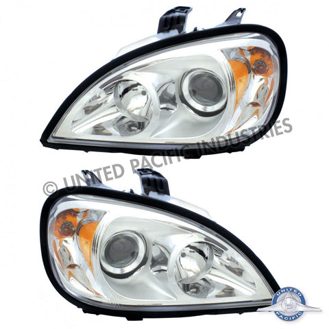 1996+ Freightliner Columbia Projection Headlight Set (2 Pack)