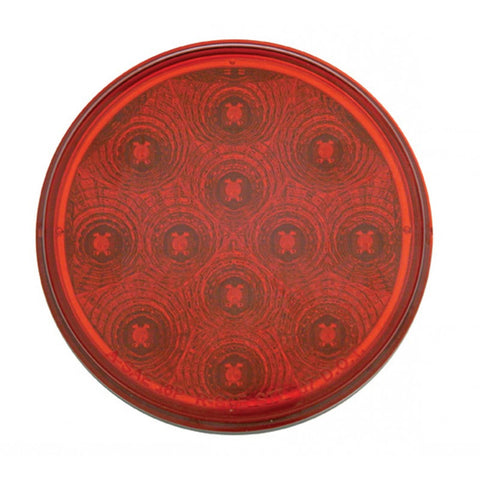 "4"" Stop, Turn & Tail - Red LED/Red Lens"
