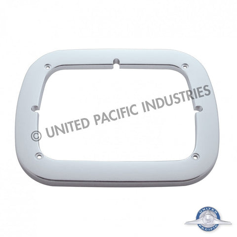 "Chrome Single 6"" x 8"" Headlight Bezel"