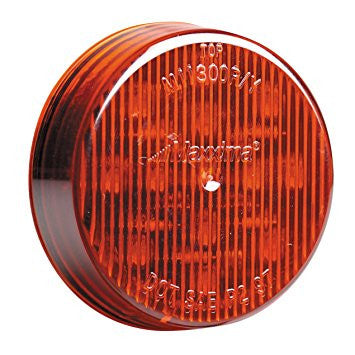 "2 1/2"" Round Red Clearance Marker Light"