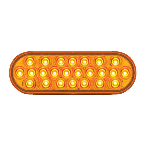 Amber Oval Pearl Series LED Light