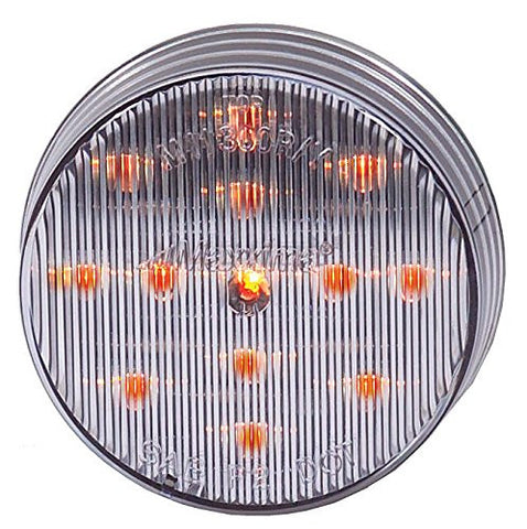 "2 1/2"" Clear Clearance Marker Light"