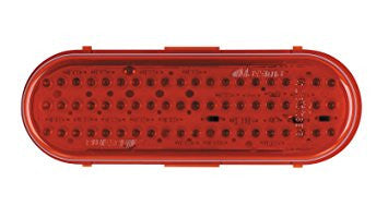 Oval Red 60 LED Stop / Tail / Turn Light
