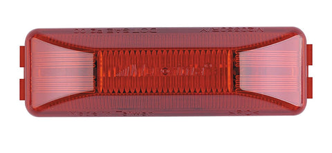"4"" Rectangular LED Clearance Marker Light- Red"