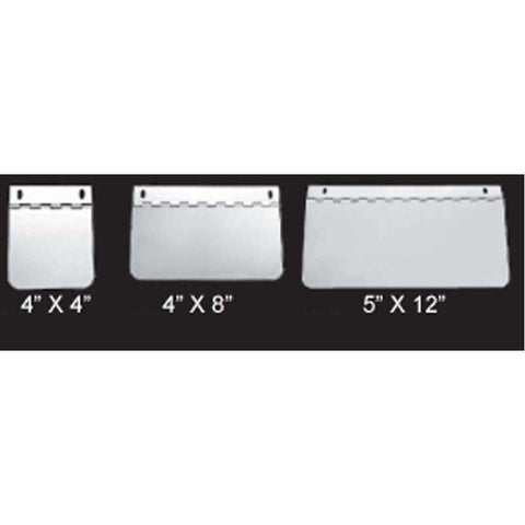 "4""x8"" Hinged Permit Plate"