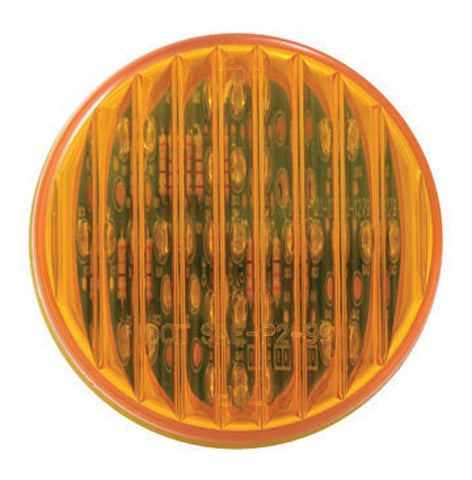 "2 1/2"" Round LED - Amber Marker Light"