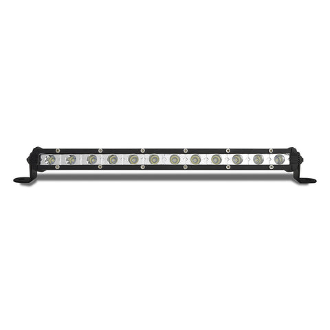 "12"" Single Row Spot/Flood Work Light Bar - 2520 Lumens"
