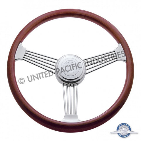 "18"" Banjo Steering Wheel w/ Hub - Peterbilt 1993-1998, Kenworth 1995-1997"