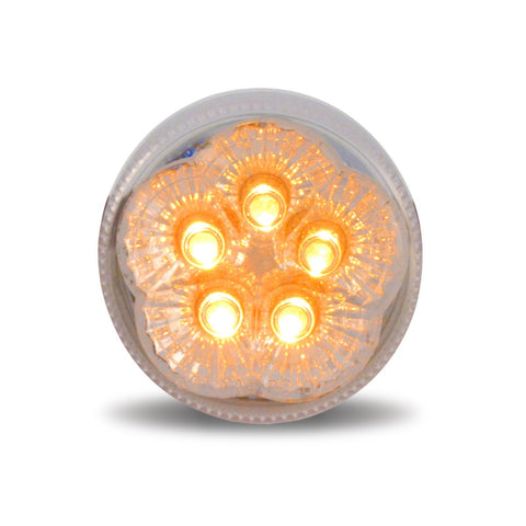 "2 1/2"" Super Diode LED - Clear Amber Marker Light"
