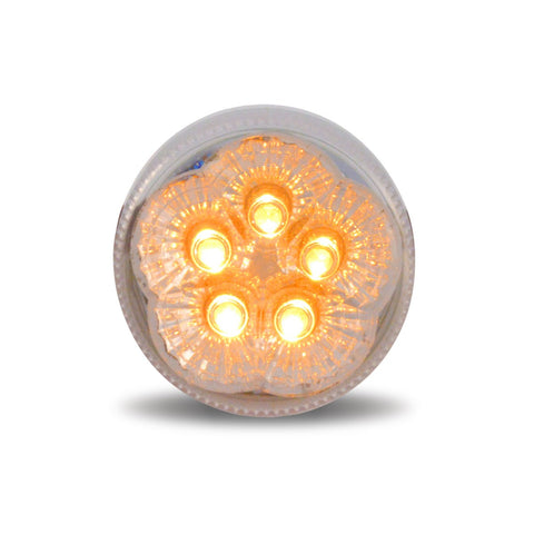 "2"" Super Diode LED - Clear Amber"