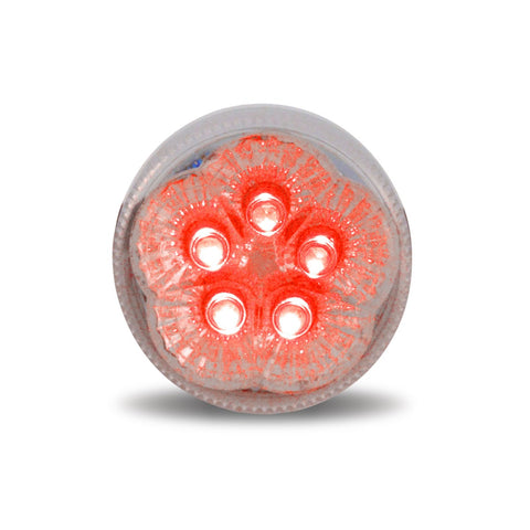 "2"" Super Diode LED - Clear Red"