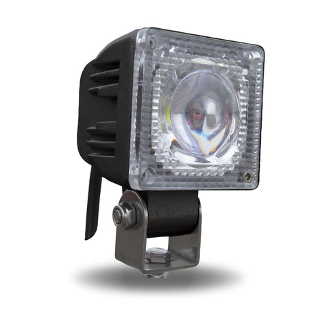 Universal White Small Square Work Light - 1200 Lumens