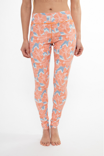 Water Legging - Coral Blossom