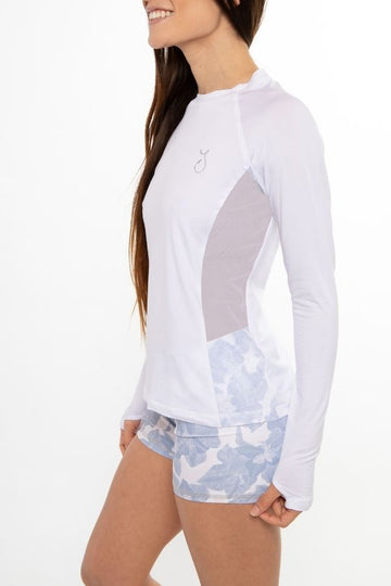 Vented Performance Top - White