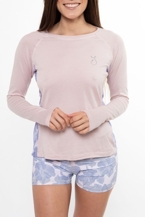 Vented Performance Top - Pearl Pink