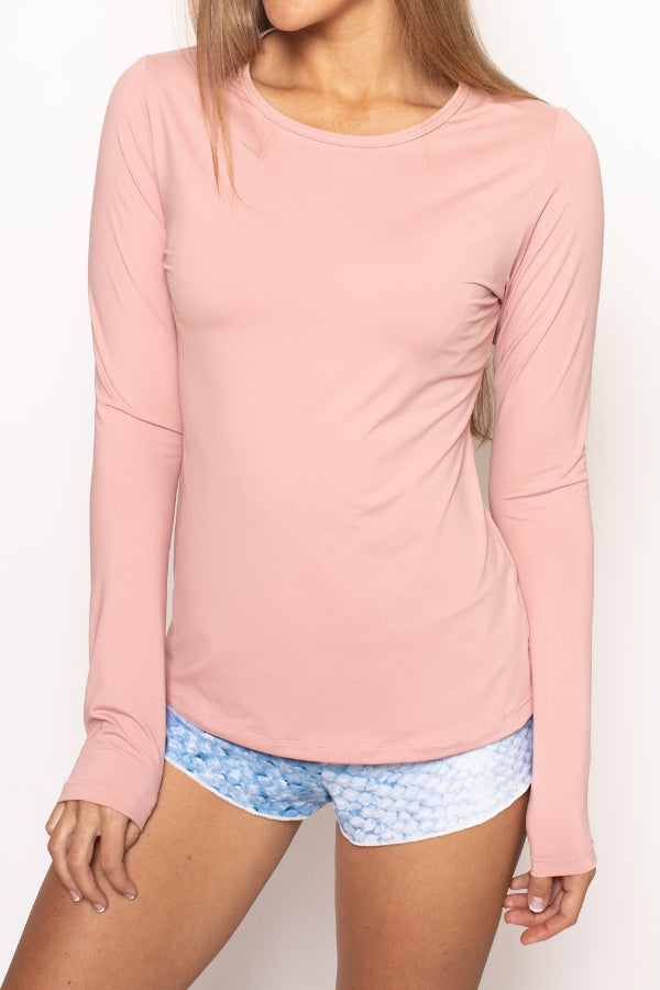 Classic Performance Top - Dusty Pink