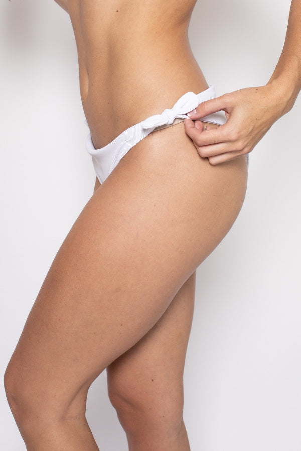 The Dolce Bikini Bottom - White