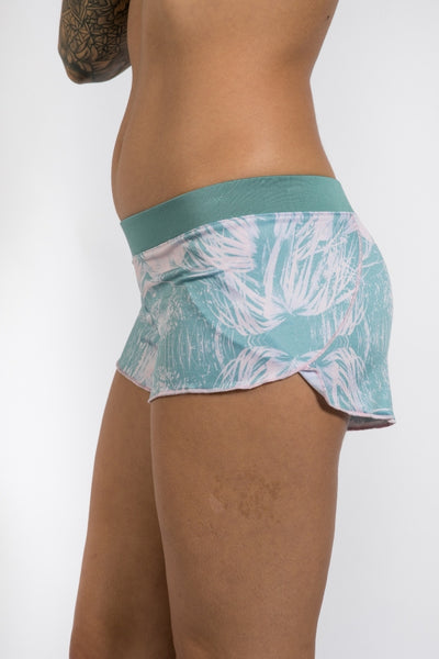 Water Shorts - Pink Palm