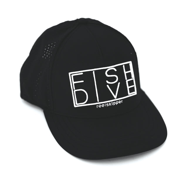 Fish Dive Hat - Black