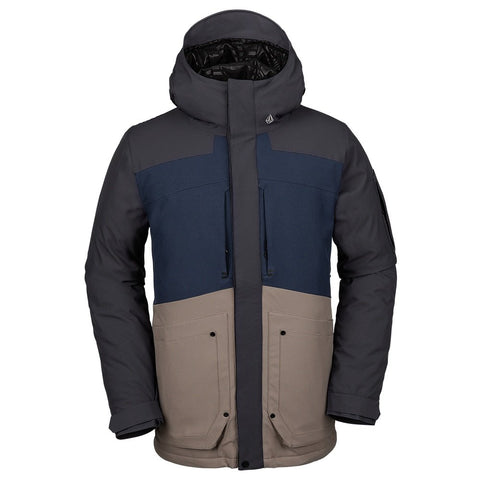Volcom Scortch Insulated Jacket - Navy