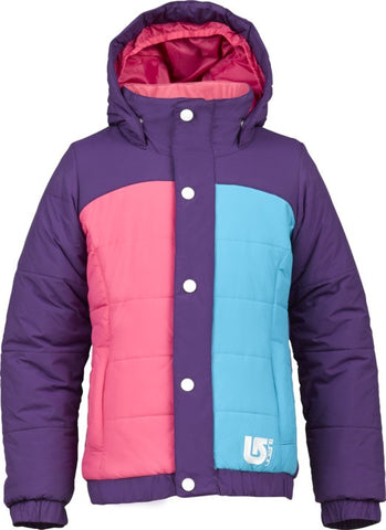 Burton Girls Cascade Puffy Kids Jacket -  Enchanted/Hot Streak/Bohemian