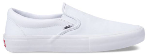Vans Pro Skate Slip-On - White/White