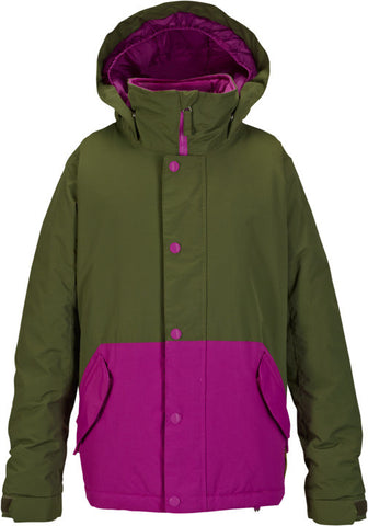 Burton Girls Echo Kids Jacket - Keef / Grapeseed