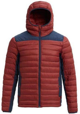 Burton Evergreen Synthetic Down Hooded Jacket - Sparrow / Mood Indigo