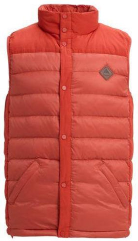 Burton Evergreen Down Vest - Hot Sauce / Bitters