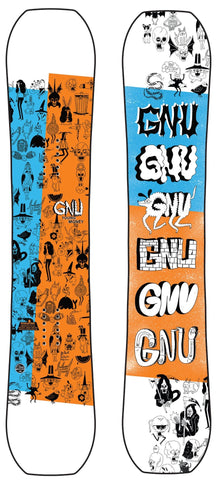 GNU Young Money Kids Snowboard 2021