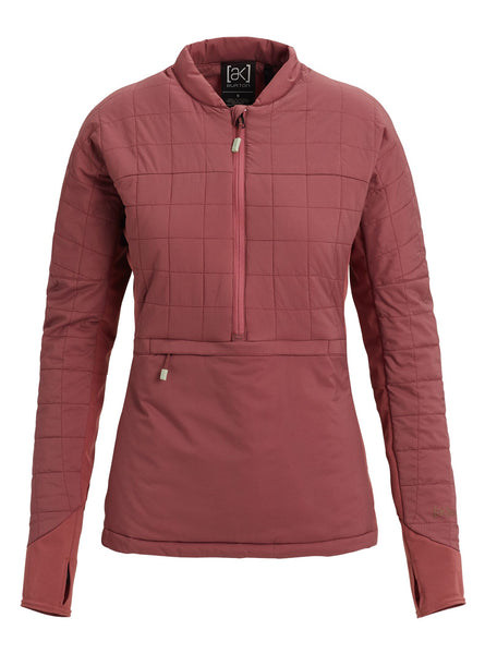 Burton [AK] Womens Helium 1/4 Zip Insulator Jacket