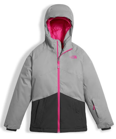 The North Face Brianna Insulate Girls Jacket - Mid Grey