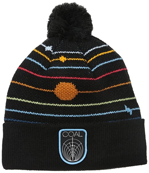 Coal Odyssey Beanie - Black / Space