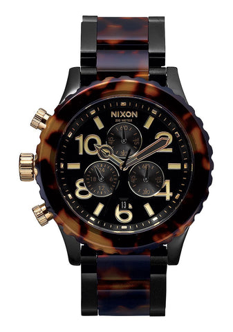 Nixon 42-20 Chrono / All Black Tortoise