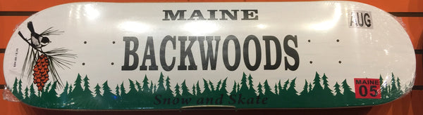 Backwoods License Plate Skatedeck