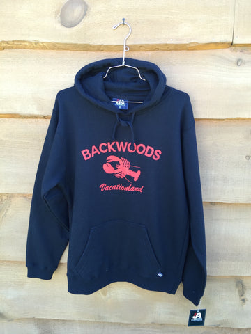 "Backwoods ""The Tourist"" Hoody - Navy"
